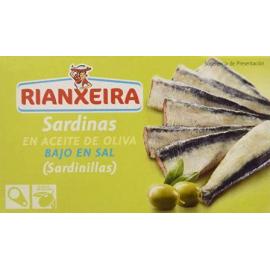 Sardinas Riantxeira bajo sal