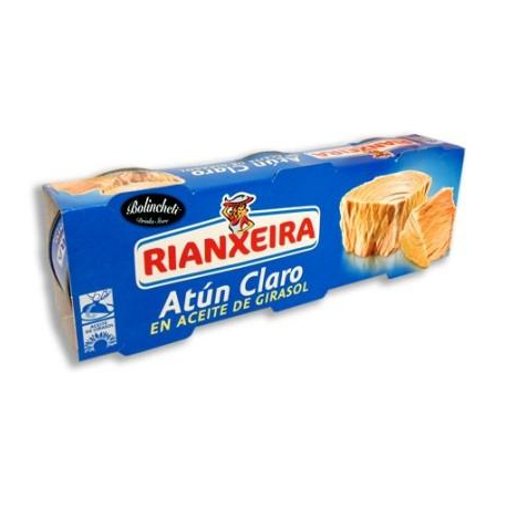 Atun-girasol Riantxeira pack3