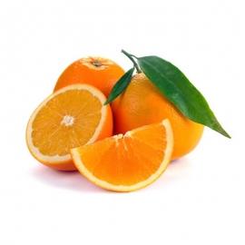 Naranja Con Hoja