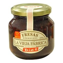 Mermelada Fresa Diet Vieja Fabrica